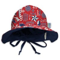 My SwimBaby® Size Medium Ahoy Sun Hat