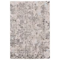 Feizy Rugs Edingburgh 5-Foot x 8-Foot Rug in White/Birch