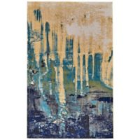 Feizy Potomac 5-Foot x 8-Foot Area Rug in Green/Blue