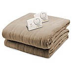 Biddeford® Comfort Knit Analog Heated King Blanket in Fawn