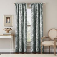 Chantel 63-Inch Rod Pocket Window Curtain Panel in Grey