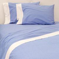 Bespoke Bengal Stripe California King Sheet Set in Blue/White