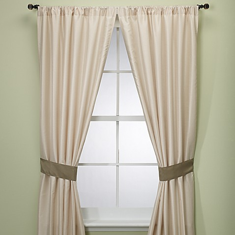 Capri 84-Inch Window Curtain Panel Pair