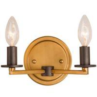 Rogue Décor Elwood 2-Light Bath Light in Bronze