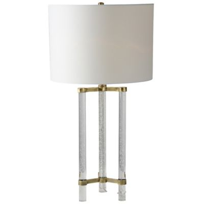 Ren wil dais table lamp in antique gold