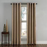 Lenox 120-Inch Grommet Top Room Darkening Window Curtain Panel in Taupe