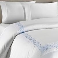 Christy Lifestyle Richmond Queen Duvet Cover in Pale Blue