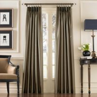 Marquee 144-Inch Rod Pocket Window Curtain Panel in Bronze