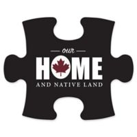 """Wallverbs™ Mix & Match Puzzle Frame """"Our Home and Native Land"""" Piece"""
