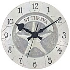 Starfish Wall Clock in White