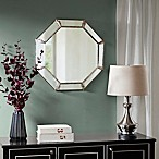 Madison Park Signature Eleanor 26.18-Inch Octagonal Mirror in Antique Silver