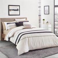 Lacoste Avoriaz Full/Queen Duvet Cover Set in Taupe
