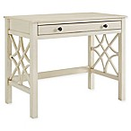 Linon Home Whitley Desk in Antique White