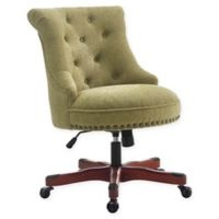 Linon Home Sinclair Office Chair in Green