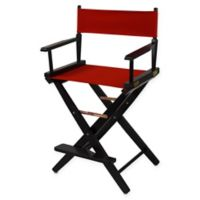 American Trails Extra-Wide Premium 24-Inch Directors Chair in Black/Red