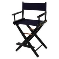 American Trails Extra-Wide Premium 24-Inch Directors Chair in Black/Navy