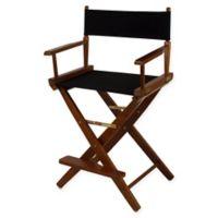 American Trails Extra-Wide Premium 24-Inch Directors Chair in Oak/Black