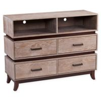 Southern Enterprises Newbury Media Console in Oak