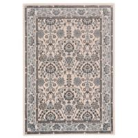 Feizy Burley 1-Foot 8-Inch x 2-Foot 10-Inch Accent Rug in Blue/Brown