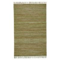 Feizy Burley Crestwood 1-Foot 8-Inch x 2-Foot 10-Inch Accent Rug in Green