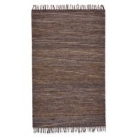 Feizy Burley Crestwood 1-Foot 8-Inch x 2-Foot 10-Inch Accent Rug in Mocha