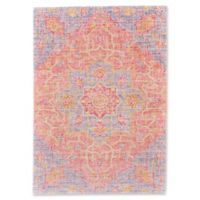 Feizy Hilltop 5-Foot x 8-Foot Area Rug in Blush