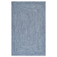 nuLOOM Lefebvre 7-Foot 6-Inch x 9-Foot 6-Inch Area Rug in Light Blue