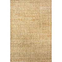 nuLOOM Hand Woven Hailey Jute 3-Foot x 5-Foot Area Rug in Natural