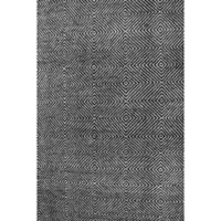nuLOOM Ago 4-Foot x 6-Foot Area Rug in Black