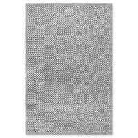 nuLOOM Ago 4-Foot x 6-Foot Area Rug in Grey