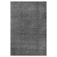nuLOOM Ago 5-Foot x 8-Foot Area Rug in Black