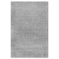 nuLOOM Ago 9-Foot x 12-Foot Area Rug in Grey
