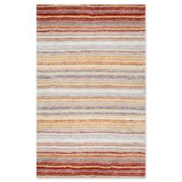 nuLOOM Classic Shag 5-Foot x 8-Foot Area Rug in Red