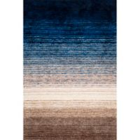 nuLOOM Classic Shag 6-Foot x 9-Foot Area Rug in Navy