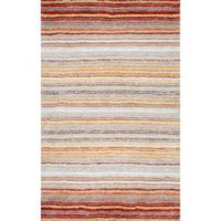nuLOOM Classic Shag 8-Foot x 10-Foot Area Rug in Red