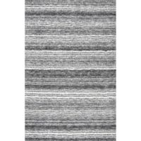 nuLOOM Classic Shag 9-Foot x 12-Foot Area Rug in Grey