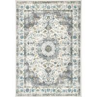 nuLOOM Verona 6-Foot 7-Inch x 9-Foot Area Rug in Grey