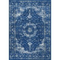 nuLOOM Verona 9-Foot x 12-Foot Area Rug in Dark Blue