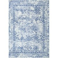 nuLOOM Vintage Odell 4-Foot x 6-Foot Area Rug in Light Blue