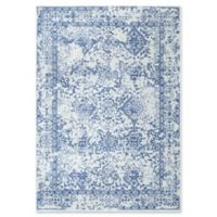nuLOOM Vintage Odell 5-Foot x 7-Foot 5-Inch Area Rug in Light Blue