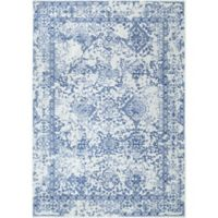 nuLOOM Vintage Odell 7-Foot 10-Inch x 10-Foot 10-Inch Area Rug in Light Blue