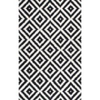 nuLOOM Kellee 9-Foot x 12-Foot Area Rug in Grey