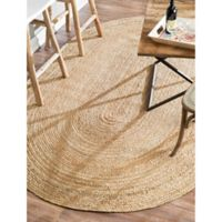 nuLOOM Rigo Jute 2-Foot 3-Inch x 4-Foot Accent Rug in Natural
