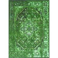 nuLOOM Vintage Reiko 4-Foot 4-Inch x 6-Foot Area Rug in Green