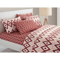 Chic Home Amare King Sheet Set in Brick