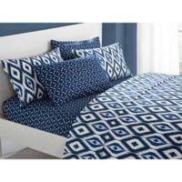 Chic Home Amare King Sheet Set in Navy