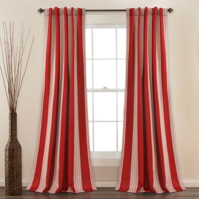 Buy Red Panels Curtains from Bed Bath & Beyond
