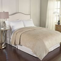 Beautyrest® Bernadine Warming Technology King Blanket in Ivory