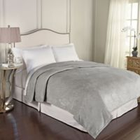 Beautyrest® Bernadine Warming Technology Full/Queen Blanket in Grey