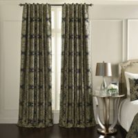 Beautyrest® Alexina 84-Inch Rod Pocket/Back Tab Room Darkening Window Curtain Panel in Raven